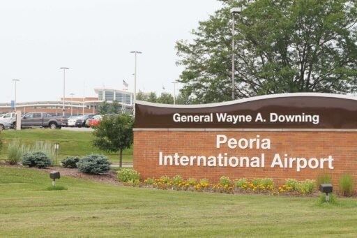 Peoria International Airport, Peoria Illinois