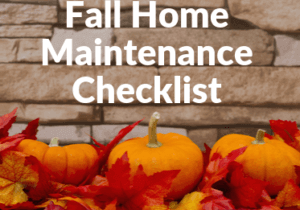 property maintenance checklist