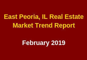 East Peoria, IL Real Estate Market Trend Update February 2019